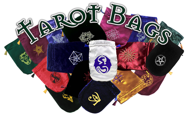7 NEW Satin & Velvet Tarot Bags!
