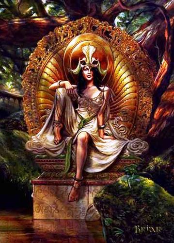 Venus of the Lotus