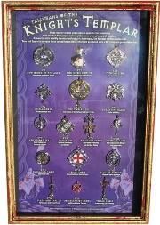 Talismans of the Knights Templar Display Board