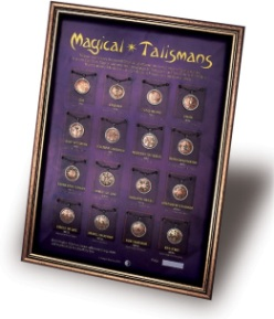 Magical Talismans Display Board