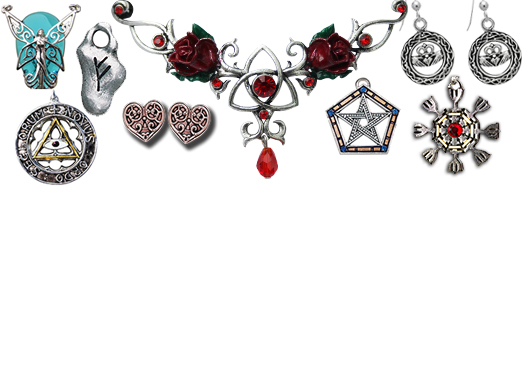 Pendants, Earrings, & Tiaras